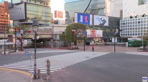 2020.4月 コロナ緊急事態の渋谷